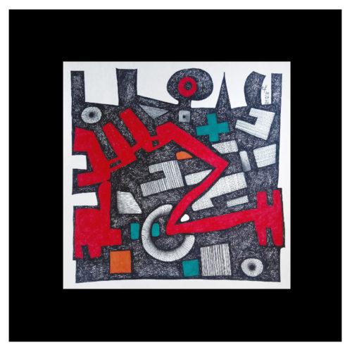 (Fineliner | Filzstift) 20 x 20 cm