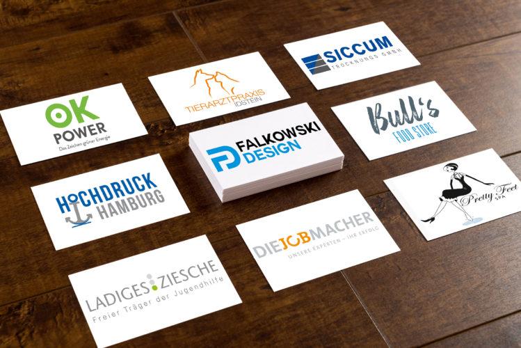 Logoentwicklung auch als Basis von Geschäftsausstattungen